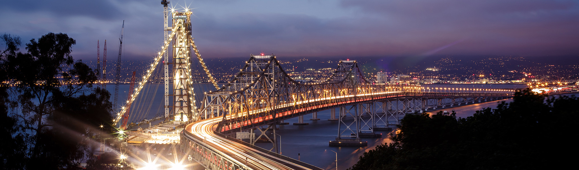 New Bay Bridge of San Francisco