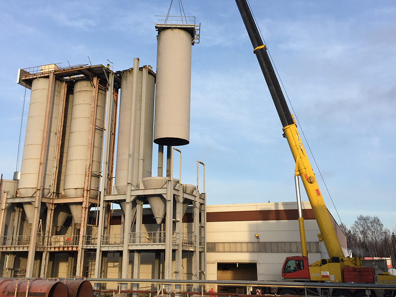 AAC Block Factory Dismantlement and Machine relocation to