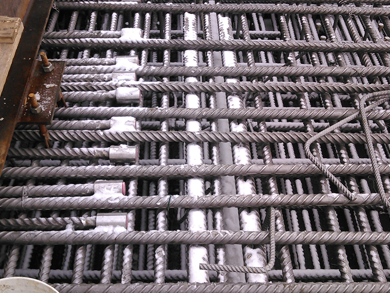 Reinforcement for bridge