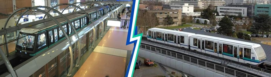 Dextra couplers on recent metro projects in France
