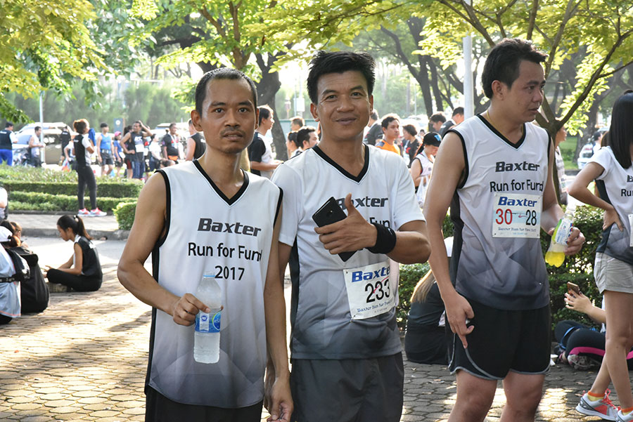 Running event at Suan Luang