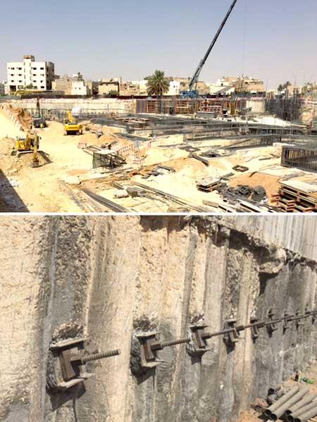 Riyadh Metro stations   Soil Stabilization   Ground